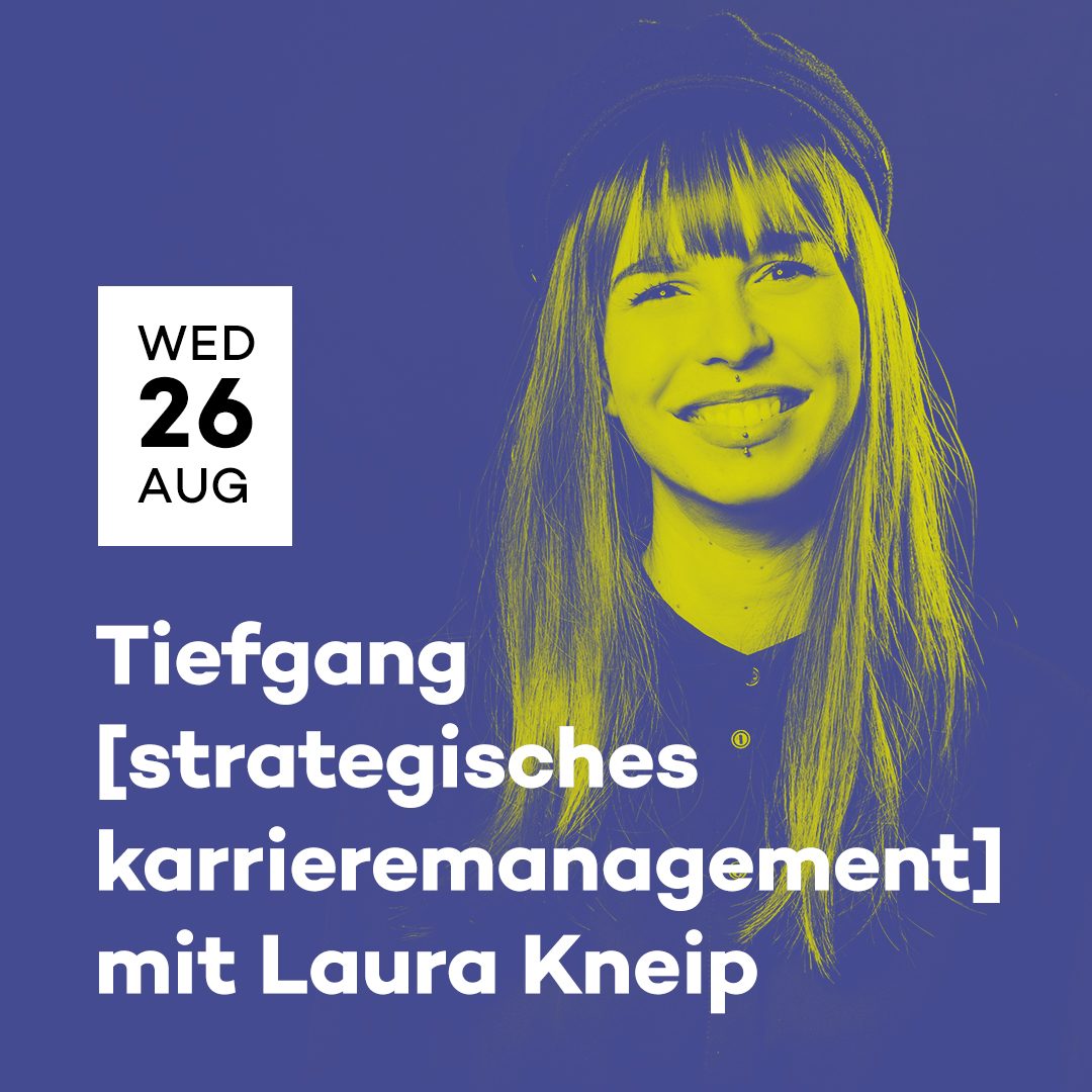 popNDS Tiefgang [strategisches Karrieremanagement] mit Laura Kneip