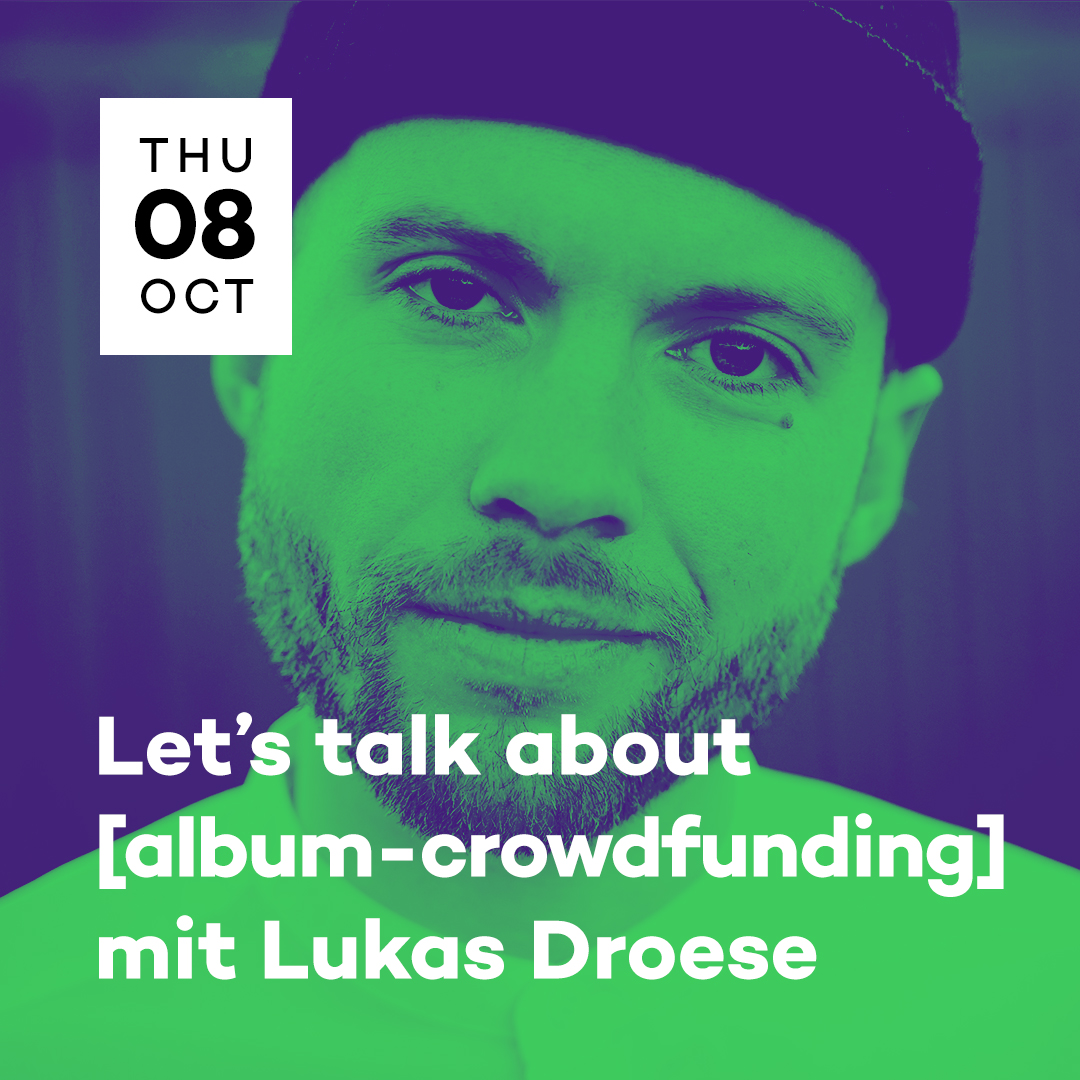 popNDS Let's talk about [Album-Crowdfunding] mit Lukas Droese