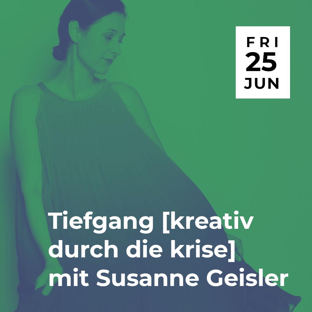 popNDS Tiefgang [kreativ durch die krise] mit Susanne Geisler